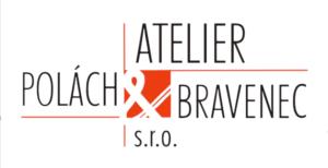 atelier-polach-&-bravenec-logo-bile
